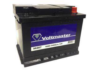 AKUMULATOR VOLTMASTER 12V-62AH 540A P+