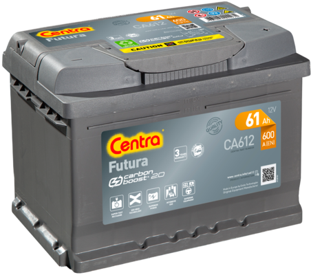 Akumulator CENTRA CA612
