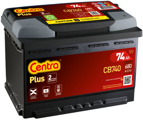 Akumulator CENTRA CB740