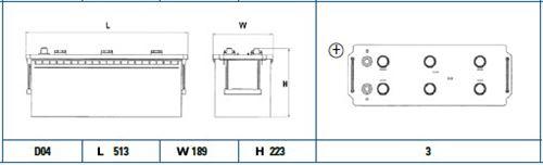 Akumulator CENTRA CG1403