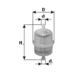 Filtr paliwa PZL SĘDZISZÓW FPS01