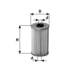 Filtr paliwa PZL SĘDZISZÓW WP205